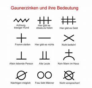 Symbole Und Ihre Bedeutung Liste : einbrecher markieren das haus gaunerzinken ~ Whattoseeinmadrid.com Haus und Dekorationen