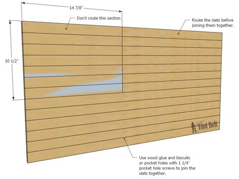 rustic wood trim diy patriotic wood flag tool belt