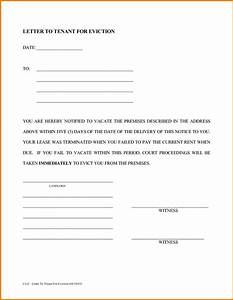 sample eviction letter website resume cover letter With free printable eviction notice letter