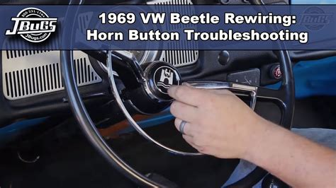 Jbugs Beetle Rewiring Horn Button