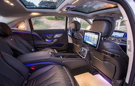 The 10 Classiest Luxury Cars For Being Chauffeured