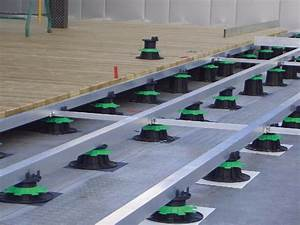 Lambourde Terrasse Composite : plot lambourde en pvc r glable h 80 140 mm pour terrasse ~ Premium-room.com Idées de Décoration