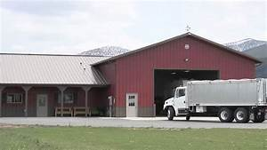 Living Quarters Metal Buildings Plans Barn - Building ...