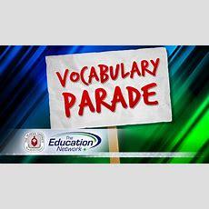 Vocabulary Parade Youtube