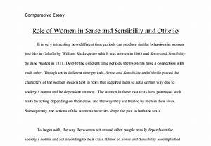 women and society essays
