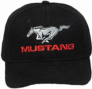 Ford Mustang Hat Fine Embroidered Cap - Ford Hats - Caps
