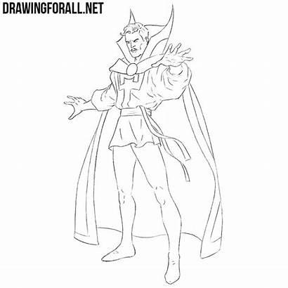 Doctor Strange Draw Drawingforall