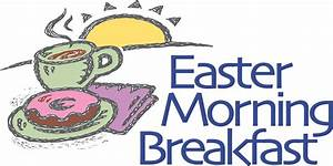 Easter Breakfast Clipart