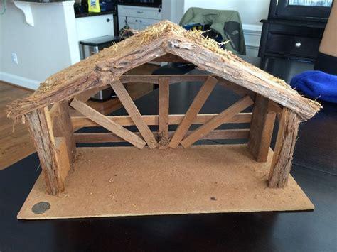 fontanini nativity stable ebay  pinterest