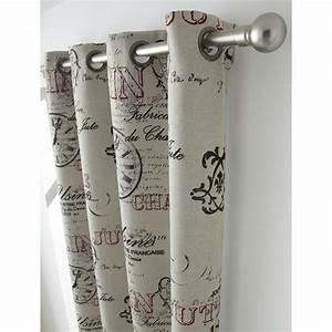 Rideau Forme Geometrique : rideau usine beige x cm leroy merlin ~ Melissatoandfro.com Idées de Décoration