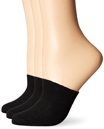 toe toppers hue u18422m3 hue women 39 s cotton toe topper 3 pack black
