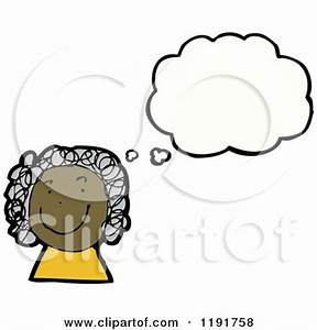 Thinking Girl Clip Art (61+)