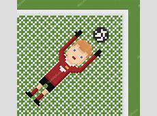 Soccer Ball Pixel Art Design Templates