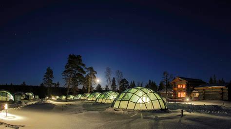 hotels to see northern lights kakslauttanen finland see the northern lights stay in