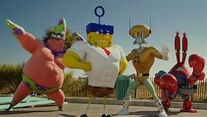 The Spongebob Movie Sponge Out Of Water Blu Ray