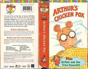 Arthur's Chicken Pox (VHS) Arthur Wiki Fandom powered