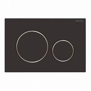 Sigma 20 Geberit : geberit sigma 20 bedieningsplaat mat zwart 115882141 ~ Watch28wear.com Haus und Dekorationen