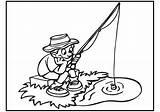 Fishing Coloring Fish Boy Dock Detailed Printable Hunting Getcolorings Boat Rod Lake Sketch Bestcoloringpagesforkids Template sketch template