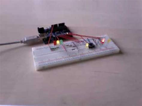an interactive traffic lights using arduino arduino interactive traffic lights 44534