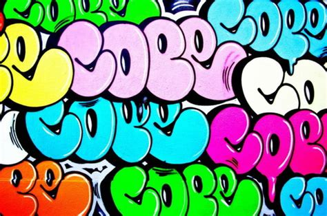 Graffiti Bubble : The Graffiti Design
