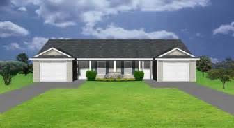 rhode island kitchen and bath duplex house plan j0224 16d plansource inc