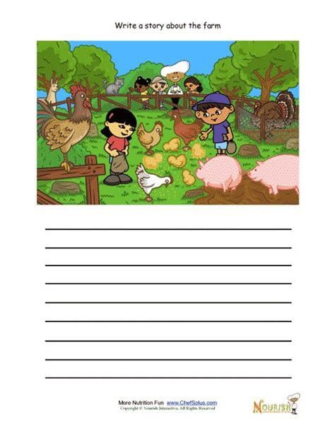 free creative writing worksheets for kindergarten 14