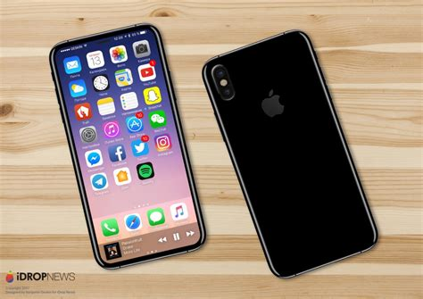 new iphone new iphone 8 leak points to an invisible