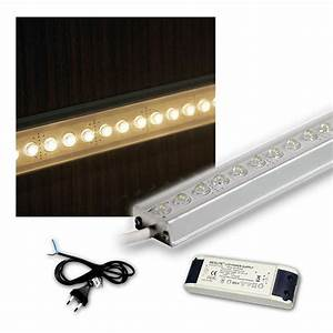 Led Leiste 2m : led aluminium lichtleiste 2m set leiste leds unterbauleuchte k chenleuchte lampe ebay ~ Eleganceandgraceweddings.com Haus und Dekorationen