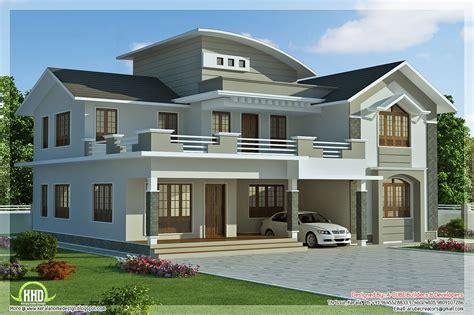 contemporary house designs sq 4 bedroom villa