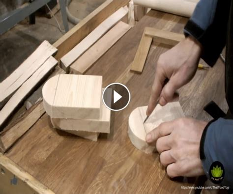 Incredible Woodworking » How To Make Small Parallettes For