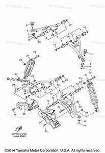 Yamaha Atv 2009 Oem Parts Diagram For Front Suspension