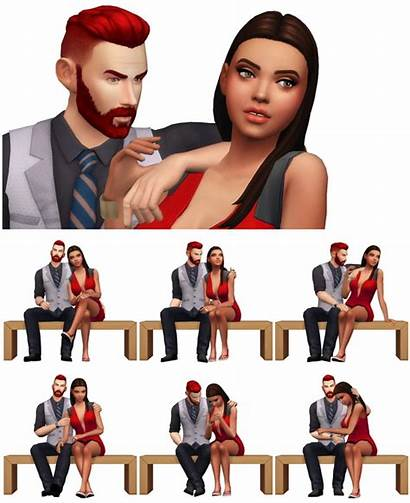 Poses Couple Rinvalee Sims Remake Sims4updates
