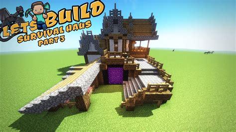 Minecraft Große Moderne Häuser by Ultimatives Survival Haus In Minecraft Part 3