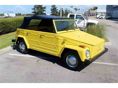 The Volkswagen Thing by Classifieds For Classic Volkswagen Thing 19 Available