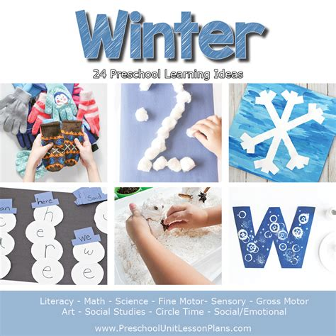 winter theme ideas for preschool a year of preschool lesson plans bundle where 570