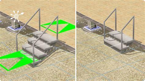 3 stufen treppe selber bauen sims 3 tutorial hafen selber bauen mit die sims 3 inselparadies