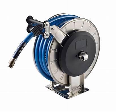 Hose Reel Pressure Stainless Retractable Reels Steel