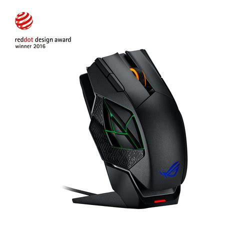 asus rog spatha mmo focused gaming mouse
