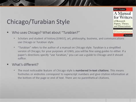 turabian template for a paper writing style overview mla apa chicago turabian ppt