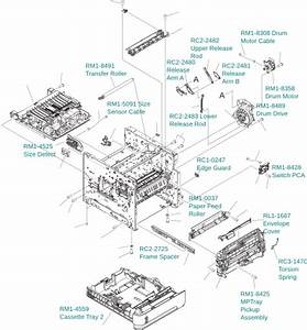 Hp Printer Parts Diagram Gallery