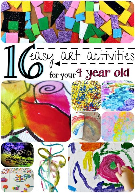 easy art activities    year  art  kids