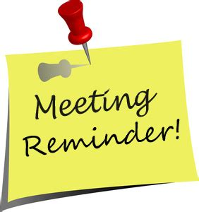Image result for meeting announcement