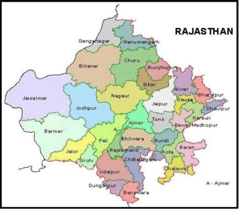 political map  rajasthan  scientific diagram
