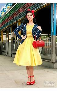 Channel your inner Snow White!  Pin Up Snow White Retro Style Vintage Fashion | Everyone ...