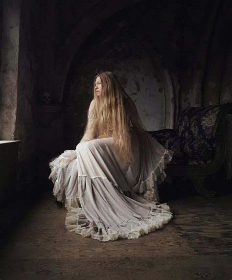 Melancholic And Fine Art Portrait Photography By Nona Limmen