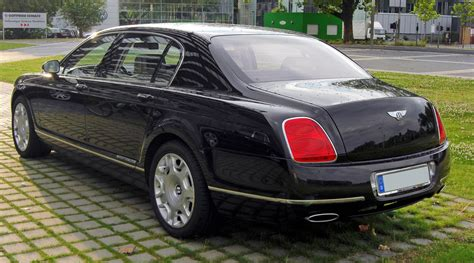 Bentley Flying Spur Modification by Bentley Continental Flying Spur Pictures Photos
