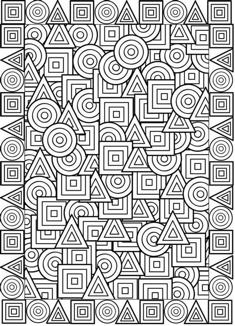 pin  coloring pages patterns