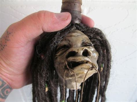 shrunken head replica harry potter style