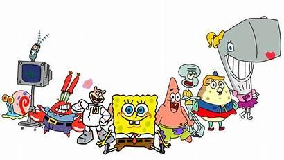 Spongebob Characters Squarepants Drawing Drawings Deviantart Favourites