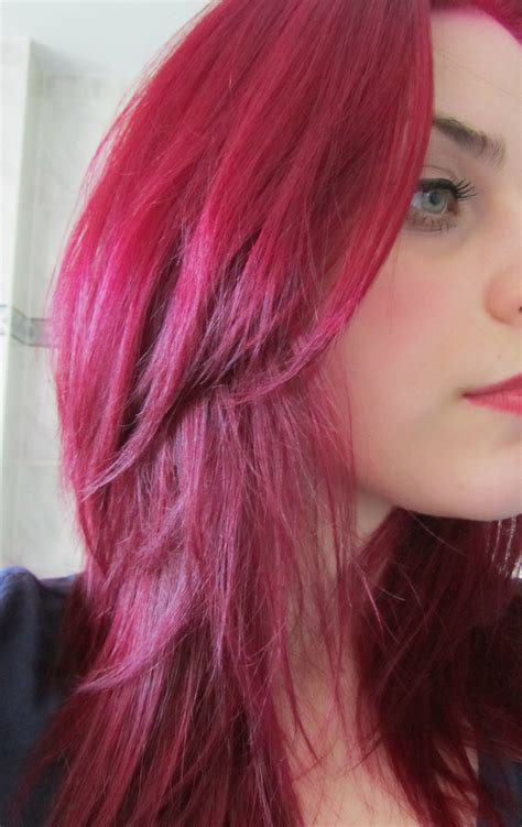magenta hair color magenta hair my magenta hair color hair inspirations